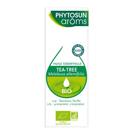 PHYTOSUN Aroms Tea Tree Bio ESSENTIAL OIL Melaleuca alternifolia