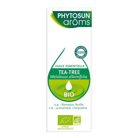 PHYTOSUN Aroms Tea Tree Bio OLIO ESSENZIALE Melaleuca alternifolia