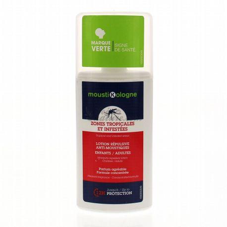 MOUSTIKOLOGNE Lotion haute protection tropical anti-moustique
