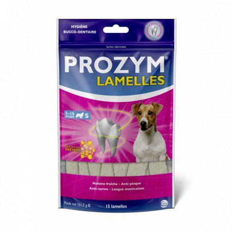 PROZYM CANIN S Lamelles à Mâcher Dentaire Pour Chien entre 5 et 15 kg