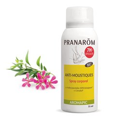 Aromapic Pranarom Spray corps anti-moustique BIO 75ml