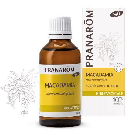 Plantaardige olie Macadamia BIO PRANAROM
