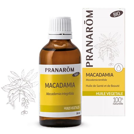 Vegetable oil Macadamia BIO PRANAROM
