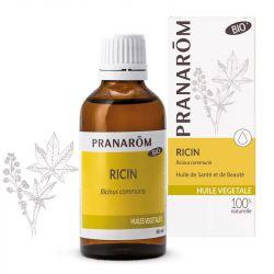 Pranarom óleo vegetal de rícino Bio 50ml