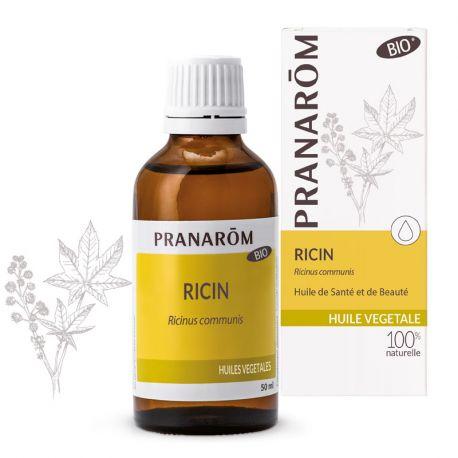 PRANAROM Huile végétale Ricin Bio 50ml