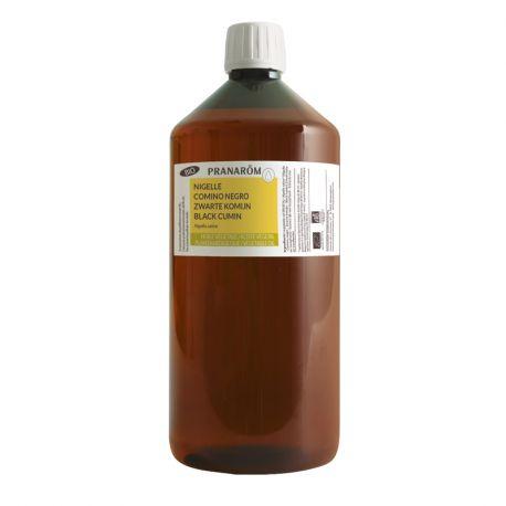 Huile végétale Nigelle BIO (Cumin noir) PRANAROM 1 Litre