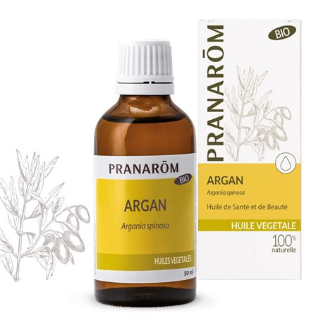 O óleo vegetal de Argan BIO Pranarom