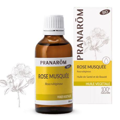 Aceite vegetal de Rosa Mosqueta Chile BIO PRANAROM