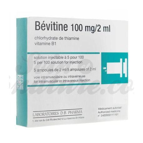 BEVITINE 100MG/2ML 5 ampoules IM-IV
