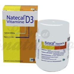 NATECAL CALCIUM Vitamine D3 600MG / 400 IE orodispergeerbare tablet