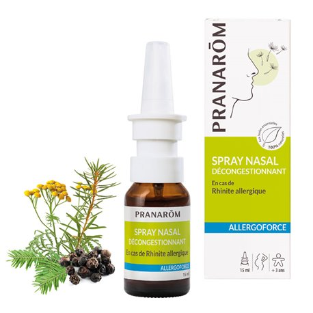 PRANARÔM ALLERGOFORCE BIO ANTI-ALLERGY NASAL SPRAY 15ML