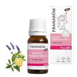 PRANABB Huile de massage BIO Immunité PRANAROM 10ML