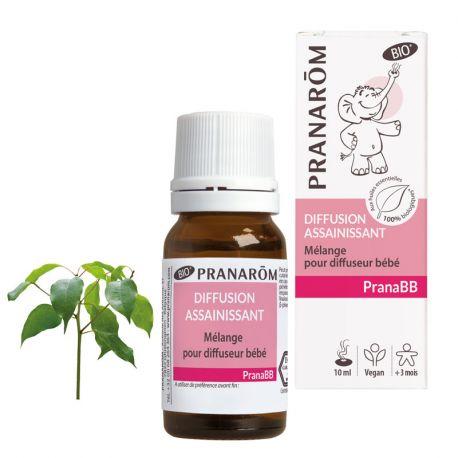 Mix diffusore PRANABB BIO Pranarom Sanitizer 10ml