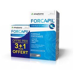 ARKOPHARMA FORCAPIL COMPLEMENT ALIMENTAIRE GELULES 180 + 60