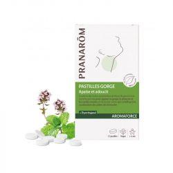 AROMAFORCE含片舒缓喉咙PRANAROM过去21。
