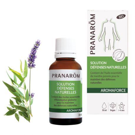Resistência AROMAFORCE e defesas naturais Pranarom 5 ml