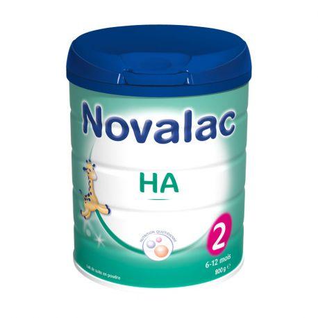 NOVALAC HA 2 Гипоаллергенный Milk Возраст на 800G