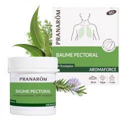 Baume respiratory AROMAFORCE essential oils PRANAROM