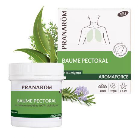 Baume дыхательных AROMAFORCE эфирные масла PRANAROM