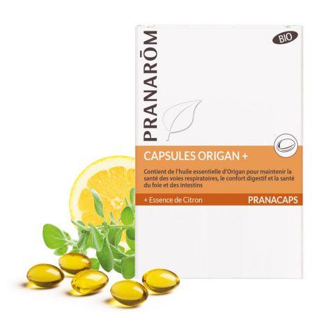 Pranarôm CAPSULES AROMATIC OREGANO Origanum Compactum 30 CAPS