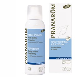 Pranarom AROMANOCTIS SLEEP SPRAY BIO com óleos essenciais
