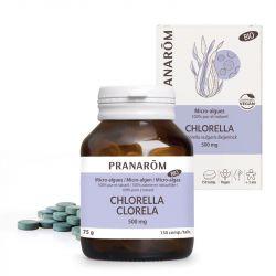 Chlorella Micro Algues 500 mg Boite de 200 Comprimés
