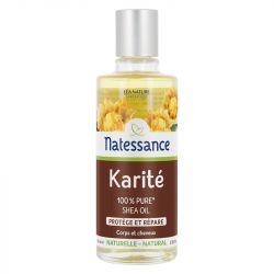 NATESSANCE Karité Huile 100% PURE 100ML