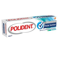 POLIDENT TOTAL ACTION Dental adhesive cream