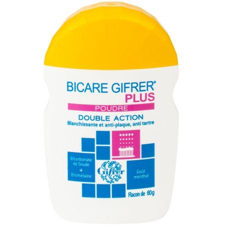BICARE PLUS Gifrer Backpulver + Bromelain