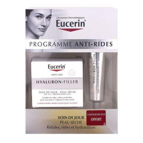 Coffret EUCERIN Hyaluron-Filler Soin anti-âge Peau sèche