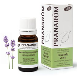 Biologische etherische olie Lavendel waar of fijne PRANAROM 10ml