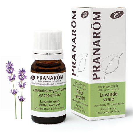 Lavender essential oil BIO true or fine PRANAROM 10ml