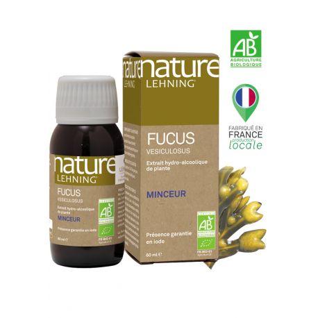 Nature Lehning Fucus vesicolosus Extrait hydro-alcoolique 60ml