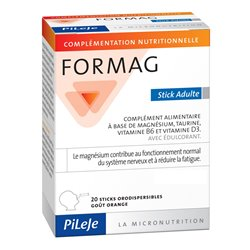 FORMAG 20 STICKS Adulte Pileje