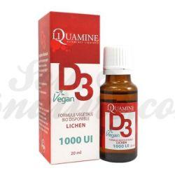 LIQUAMINE Vitamine D3 1000 UI Vegan Liquide 20ml