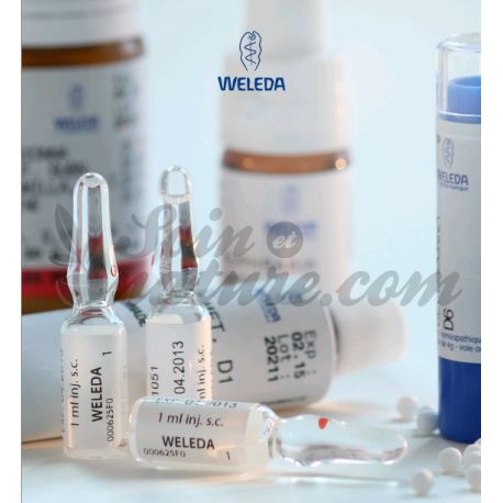 D3 Gouttes HOMEOPATHIE WELEDA DILUTION 60ML
