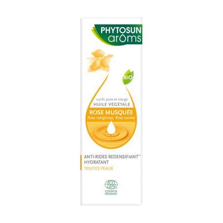 PHYTOSUN AROMS huile végétale Rose musquée / ROSA RUBIGINOSA BIO