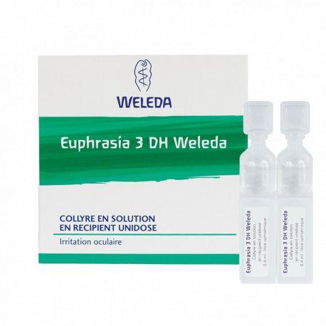 EUPHRASIA 3X WELEDA EYE DROPS SINGLE DOSE