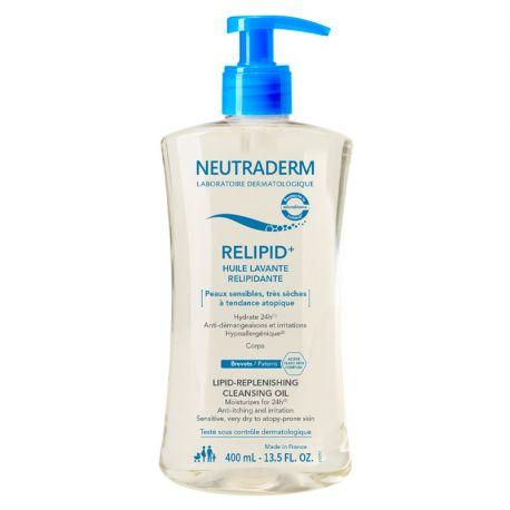 NEUTRADERM RELIPID + olio per il lavaggio relipidante 400ml