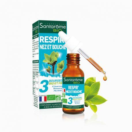 SANTAROME COMPLEXE BOURGEON respir' nez et bouche 30ml