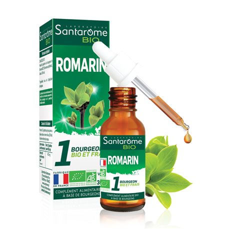 SANTAROME BOURGEON Romarin 30ml