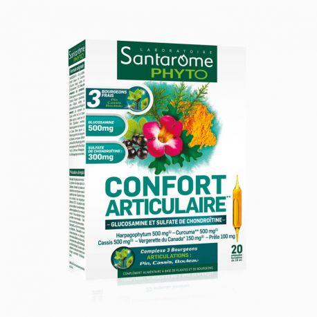 SANTAROME BIO Confort Articulaire 20 ampoules 10ml
