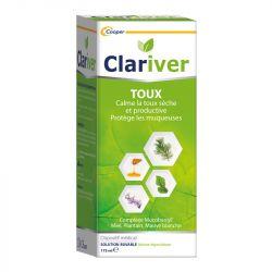 CLARIVER Sirop Toux naturel Adulte 175ml