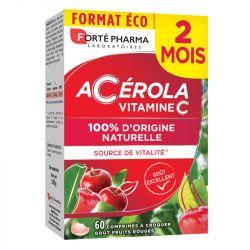 Forté Pharma ENERGIE ACEROLA 60 comprimés à croquer