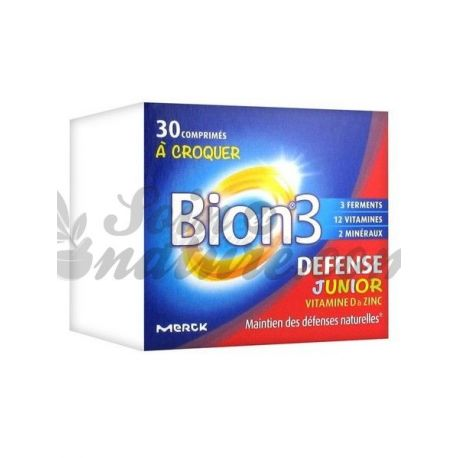 Bion-3 Junior multivitamines pour enfant MERCK