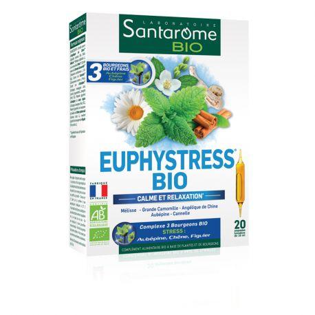 SANTAROME BIO euphystress 20 ampoules 10ml