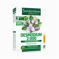SANTAROME BIO Desmodium 2000 20 ampoules 10ml