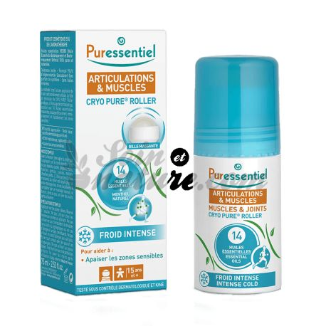Puressentiel Cryo Pure Roller Joints and Muscles 75ML