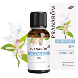 Diffusion Zen Pranarom Essential Oil 30ml
