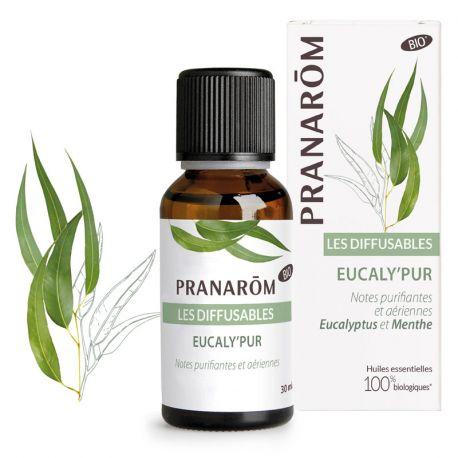 Diffusion Eucaly'Pur Bio Pranarom Essentiële Olie 30ml